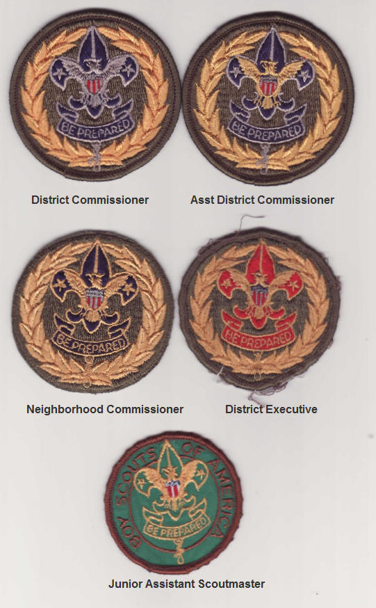 Commissioner Patches from the 1960's