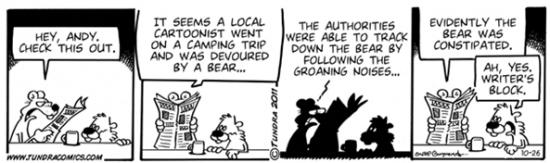 Tundra Cartoon