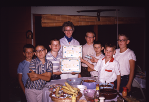 1962 - The NetCommish was in Pack 13, Den 5 and mom was the Den Mother