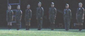 1964 - The NetCommish (far left) was a newly minted Boy Scout attending Scout Camp for the first time with Troop 13, Fox Patrol at Cary Camp.